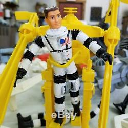 Vintage 1960s Mattel Matt Mason Lot Man In Space Station & Accessories