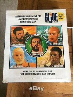 Vintage 1964 Gi Joe 1970 70s Adventure team Flying Space Pack Set 12 Figure Lot