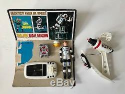 Vintage 1966 Major Matt Mason Mattel's Man In Space with card back