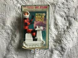 Vintage 1967 Mattel Sg. Storm Major Matt Masons Space Buddy
