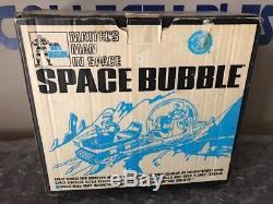 Vintage 1968 Mattel Major Matt Mason BOXED USED Space Bubble New Opened Box