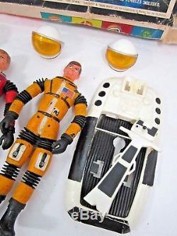 Vintage 1968 Mattel Matt Mason Space Mission Team In Box 1960's Toys