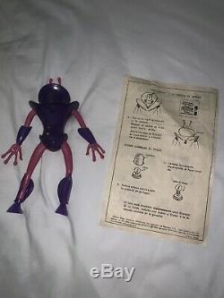 Vintage 1969 Cipsa Mexico Mattel Matt Mason Scorpio Alien Figure Nice Shape