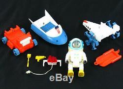 Vintage 1969 Eldon Walking Billy Blastoff Space Scout Loose Complete Set Works