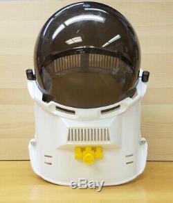 Vintage 1969 Ideal Star Team NASA Astronaut Space Helmet Black & Yellow RARE
