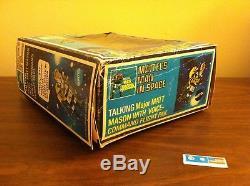 Vintage 1969 Mattel Talking Major Matt Mason With Box # 6362