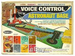 Vintage 1969 Remco Astronaut Voice Control Rocket Space Base withSound Box Works