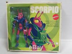 Vintage 1969 Scorpio Mattel Major Matt Mason NICE QS092