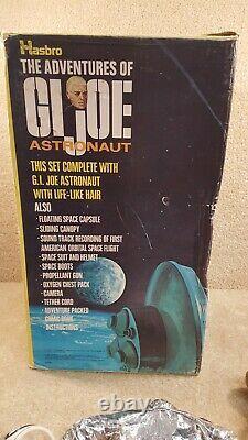 Vintage 1970 Hasbro GI Joe Spacewalk Mystery Space Capsule Talking Astronaut