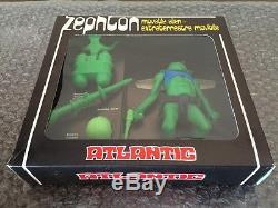 Vintage 1970's Atlantic Galaxy serie Zephton Movable Alien