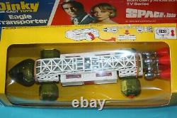Vintage 1970s Dinky Toy Mint and Boxed RARE Eagle Transporter no 359 SPACE 99