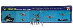 Vintage 1971 Mattel VertiBird Astronaut Rescue Helicopter Complete withBox Works