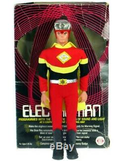 Vintage 1977 Ideal Electroman Robot Zogg Space Man Action Figure Toy withBox