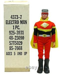 Vintage 1977 Ideal Electroman Robot Zogg Space Toy Mint withMailer Box MIB Works