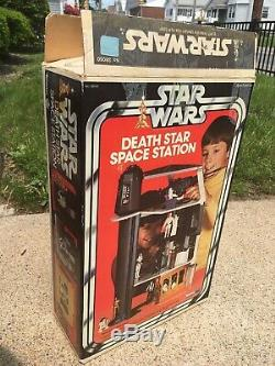Vintage 1977 STAR WARS Kenner DEATH STAR SPACE STATION Toy, VGC Near Complete