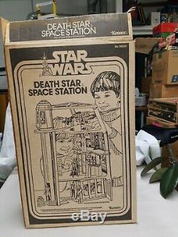 Vintage 1978 Kenner Star Wars Death Star Space Station Playset Complete withBox