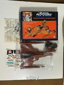 Vintage 1979 MEGO Buck Rogers DRACONIAN MARAUDER Space Ship SEALED/UNUSED in BOX