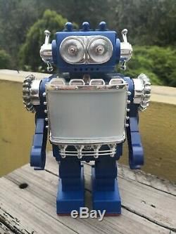 Vintage 1979 Super Video Robot Space Scout Sh Horikawa Made In Japan Works