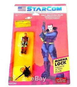 Vintage 1980's Starcom Toys PROF. MALVANNA WILDE Starmada CUSTOM FIGURE