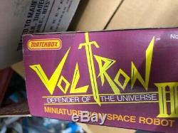 Vintage 1981 Matchbox Voltron III Miniature Lion Space Robot MISB Nrfb Rare