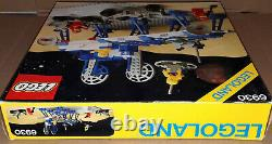 Vintage 1983 Lego Classic Space 6930 Supply Station 100% Comp withInstructions box