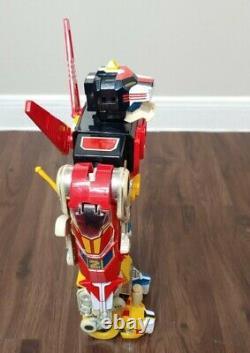 Vintage 1984 Voltron World Events RARE 14 Space Robot Transformer Action Figure