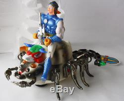 Vintage 1986 Guardian Rider Scorpio Sectaurs Blackstar Motu Ko Son Ai Taiwan New