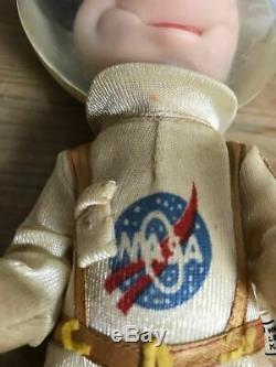 Vintage 70' MARX Toys Mickey Mouse Astronauts 23 cm Figure in Space Suit F/S