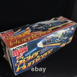 Vintage Action Man SOLAR HURRICANE Space Ranger Vehicle Boxed Toy