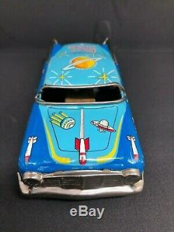 Vintage All Original 1950's Space Patrol Car in C9 NM Condition