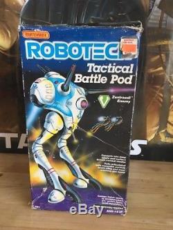 Vintage Bandai Matchbox Macross Robotech Zentraedi Tactical Battle Pod Robot