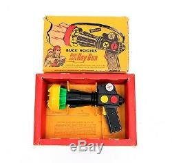 Vintage Buck Rogers Super Sonic Ray Gun with Original Box