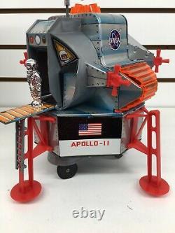 Vintage Daishin DSK TIN B/O Apollo-II American EAGLE Lunar Module MINT WithBOX
