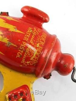 Vintage Daisy Buck Rogers Liquid Helium Space gun, Ray Gun Pistol Water Gun 1936