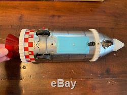 Vintage Daiya Docking Rocket Original Box Battery Operated Japan RARE