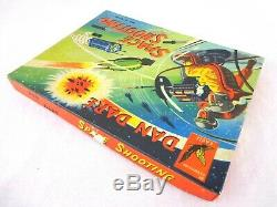 Vintage Dan Dare Space Shooting Toy Target Game Glevum 1950s Complete Very Rare