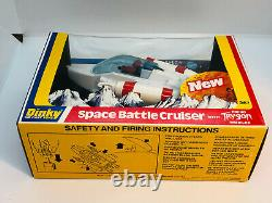 Vintage Dinky 367 Dinky Space Battle Cruiser Mint in Box 1979