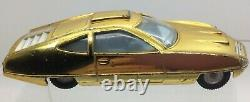 Vintage Dinky Toys 352 Shado UFO Ed Strakers Vehicle Gold Space Car 1999 Rare