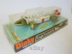 Vintage Dinky toys 359 Space 1999 Eagle Transporter Gerry Anderson Boxed