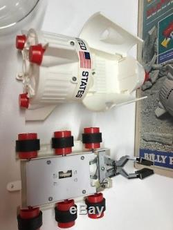 Vintage Eldon Billy Blastoff Eldon Space Base Set with Origninal Box & Accessories