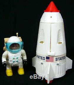 Vintage Eldon Billy Blastoff Space Base Astronaut Set 100% Complete withBox Works