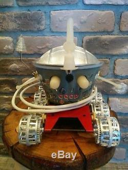 Vintage Extra Rare USSR Russian Lunochod Lunokhod MoonRover Walker Space Toy