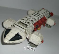 Vintage Figure Die Cast Dinky Toys Space 1999 Eagle Freighter Buono Stato Loose