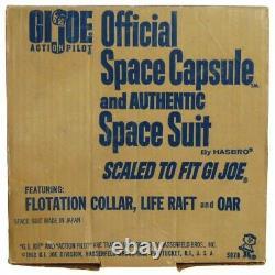 Vintage GI Joe Sears Space Capsule withAstronaut Flotation Collar Unused withInserts