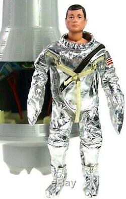 Vintage GI Joe Spacewalk Mystery Space Capsule withTM Astronaut Sealed Accs & Box