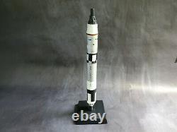 Vintage Gemini Titan NASA 172 Scale Wood Space Model Rocket Toys & Models Corp