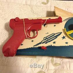 Vintage Hasbro Lunar Launcher Space Ship Triple Target Action Game In Box Rare