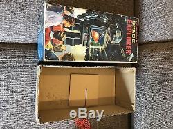 Vintage Horikawa Japan Tin Space Explorer Toy Robot Silver withBox
