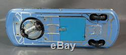 Vintage Hungarian Holdauto Interkozmosz Lemezarugyar Tin Litho Toy Space Car