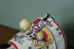 Vintage Japan Made Pressed Tin Toy Apollo Space Capsule Battery Operated